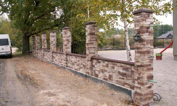Забор Скальная гряда