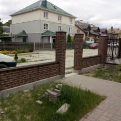 Блоки для заборов Кирпич-рустик