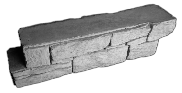 Блок межстолбовой перегородки «Норвежский камень»