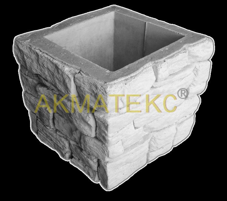 Блок «Норвежский камень» для столба и опорной колонны