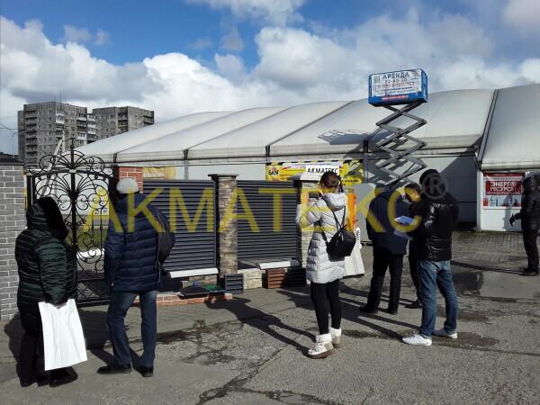 "Экспозиция на выставке ""Фасад-2020"""
